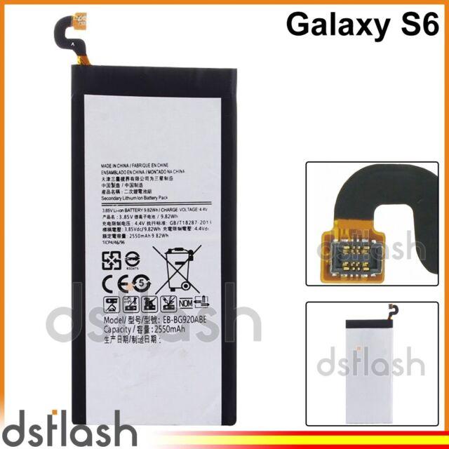 Bateria Samsung Galaxy S6 2550mAh SM-G920 Compatible Nueva