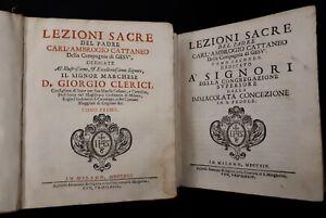 Lezioni-Sacre-del-Padre-Carl-039-Ambrogio-Cattaneo-della-Compagnia-2tomi-1713-4