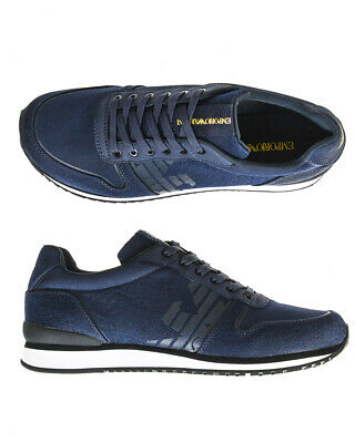 Emporio Armani Shoes Sneaker Leather