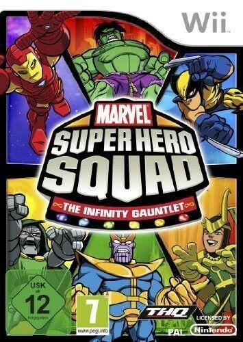 Wii - Marvel: Super Hero Squad 2: The Infinity Gauntlet dans l'emballage utilisé