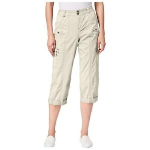 4cc39fde Image is loading Style-amp-Co-Relaxed-Fit-Cuffed-Cropped-Pants-