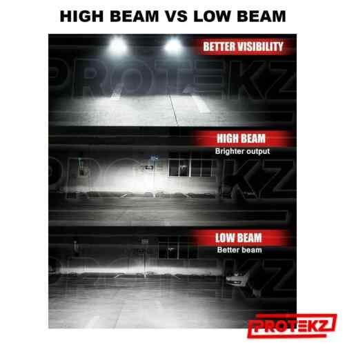 LED HID Headlight Conversion kit Protekz H11 6000K for 2005-2013 Volvo VNL