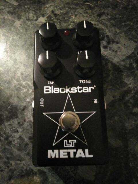 BLACKSTAR LT METAL GUITAR EFFECTS PEDAL