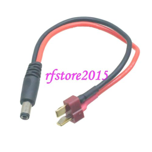 T-Plug Deans Male to male 2.1mmx5.5mm DC Power Adapter Cable cord