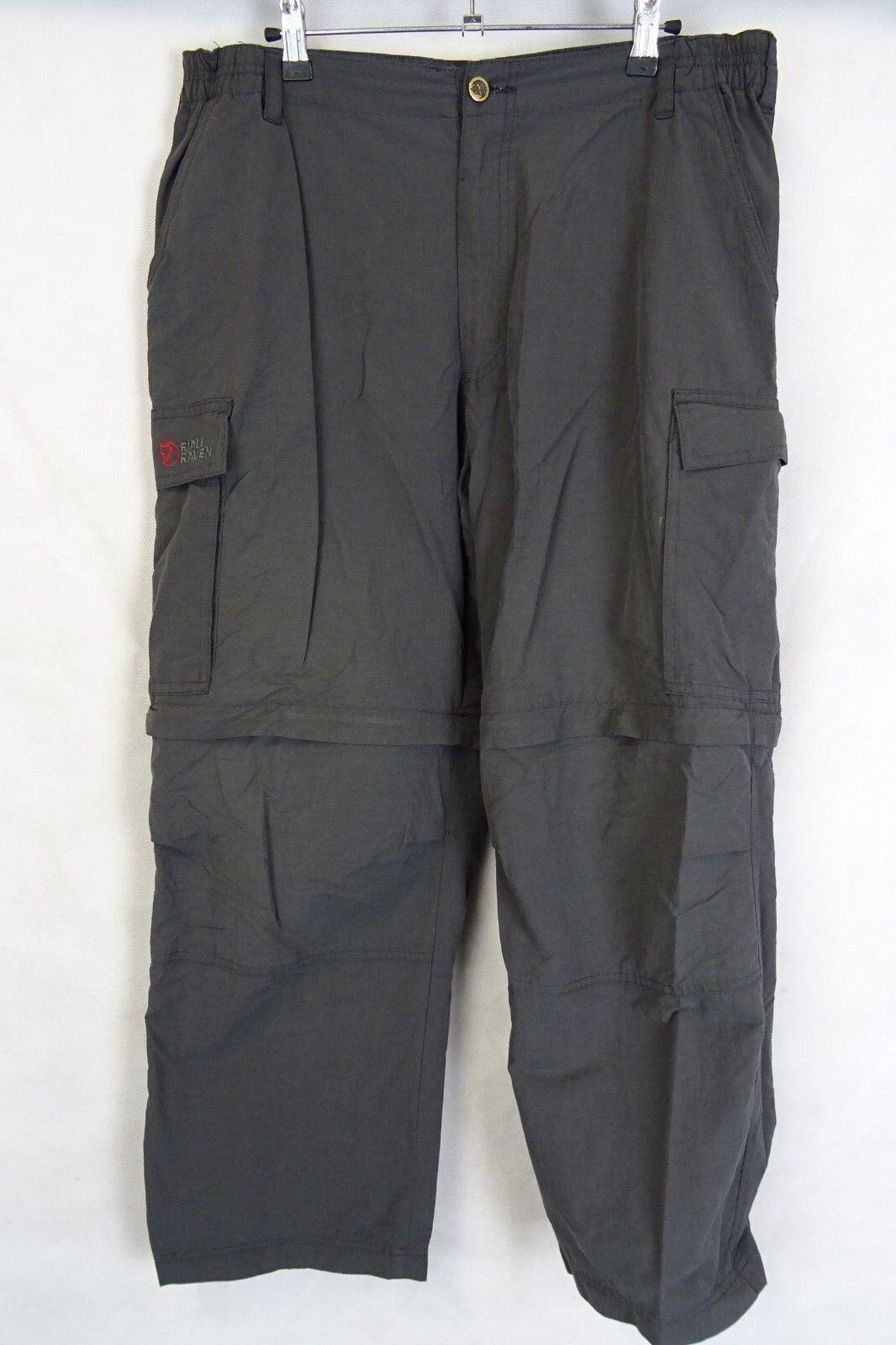 Men's Fjallraven Outdoor Trousers Hunting Combat Größe W36 L27 AA2354