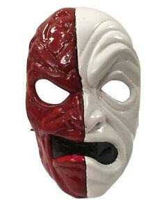GB-DA-kurlzzz-HOLLYWOOD-UNDEAD-Halloween-Plastico-Mascara-Album-Disfraz-Cosplay