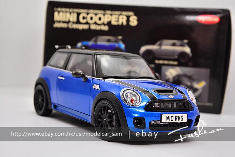 Kyosho 1 18 BMW MINI Cooper S bluee
