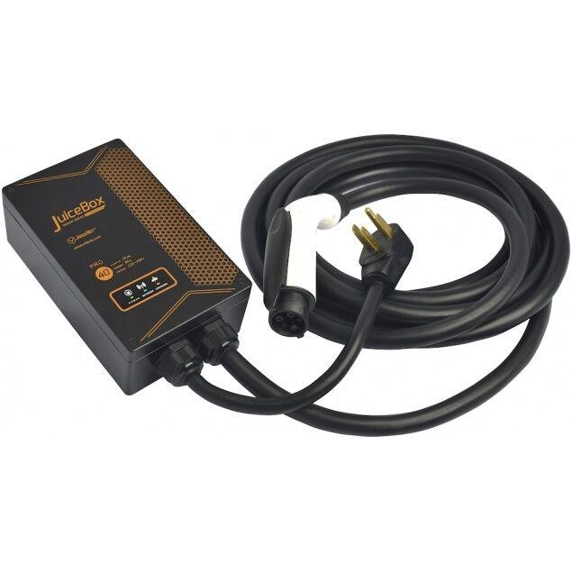 Smart Juicebox Pro Level 2 40a J1772 Ev Home Charging Station Wi Fi Evse For Online Ebay