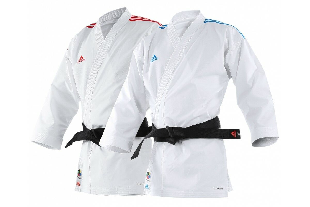 Adidas Adi-Light Karate Gi Kumite Aprobado Wkf Traje Competencia Uniforme