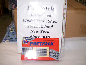 Admirable Lionel Trains O Gauge Fastrack 5 Block Section 3 Rail Brand New 6 Wiring 101 Mentrastrewellnesstrialsorg
