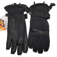 Seirus Womens Waterproof Ski Gloves Arctic Beacon Thermolite Color Black 1268 L