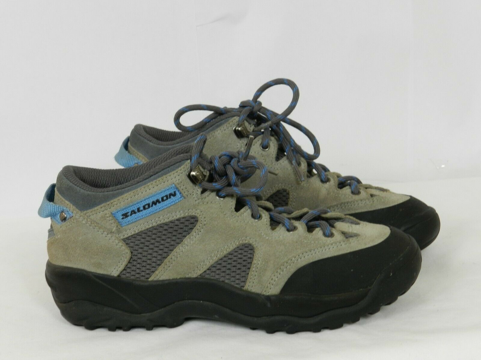 Salomon Contagrip Womens Hiking shoes Boots Size 6.5  Leather G   high quality genuine