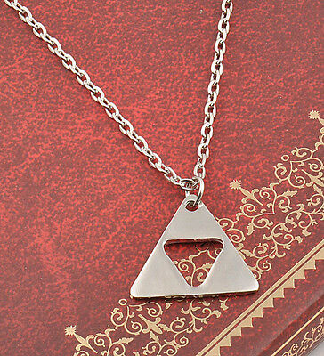 """HOT""""The Legend of Zelda""""Triforce Costume Cosplay Metal Necklace Collection Gift"""