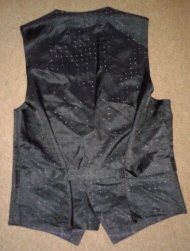 Italian 00 Waistcoat 48 Lab Pal Virgin Medium £425 Zileri Tartan Wool gt;rrp H1w0Fq