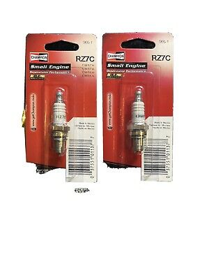 Champion 4 Pack Of Genuine OEM Replacement Spark Plugs # RH10C-4PK