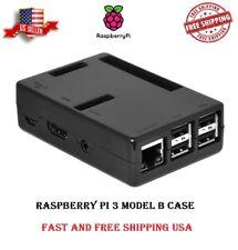 EEEKit for Raspberry Pi 3 Model B Black Enclosure Case