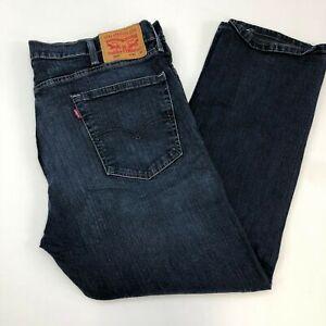 Levi-039-s-505-Denim-Jeans-Mens-40X30-Blue-Regular-Fit-Straight-Leg-Medium-Washed