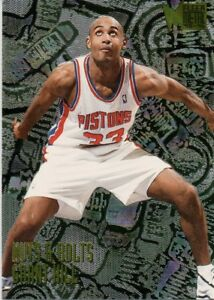 Basketball Grant Hill Pic silver plaque free post****