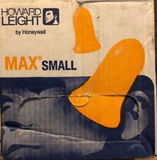 100 Box Honeywell Howard Leight Max 30s Corded Ear Plugs 30db Rated Disposable