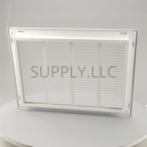 FILTER RETURN VENT COVER Steel White Grille Duct AC Air Grille Ceiling Wall