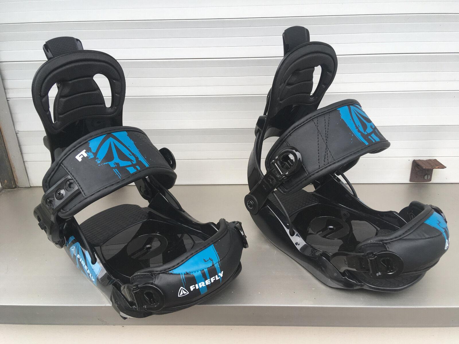 FASTEC Firefly Kinder-Snowboardbindung FT5 kid Soft-Bindung 4x4 Größe S US 6-8