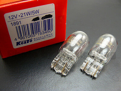 Genuine Toshiba 12V 21W 5W Turn Brake Signal Halogen Light 7443 7515 bulb lamp