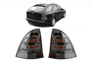Luces-LED-Para-Mercedes-Clase-C-S203-Station-Wagon-01-07-Luces-Bombillas-Humo