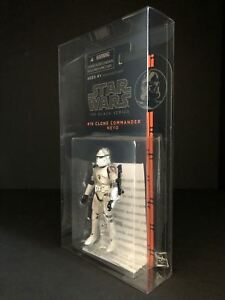 """Star Wars The Power of the Force 3.75/"""" Figure Deflector DC® MOC Display Case"""