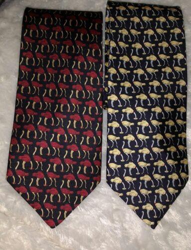Bird Gold Tie Ostrich Red Day Silk Valentine Fathers Mens Ostrich Lover gold Black waT4Wxq