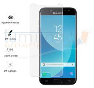 Displayschutzfolie-gehaertetes-Glas-fuer-Samsung-Galaxy-J5-2017-Glas