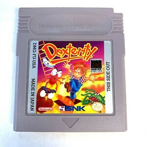 Nintendo-Dexterity-ORIGINAL-Gameboy-Game-Tested-Working-amp-Authentic