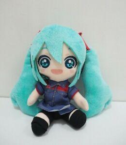 Hatsune-Miku-Vocaloid-Taito-Premio-uniforme-sonrisa-Felpa-Muneca-de-Juguete-Relleno-de-7-034-Japon