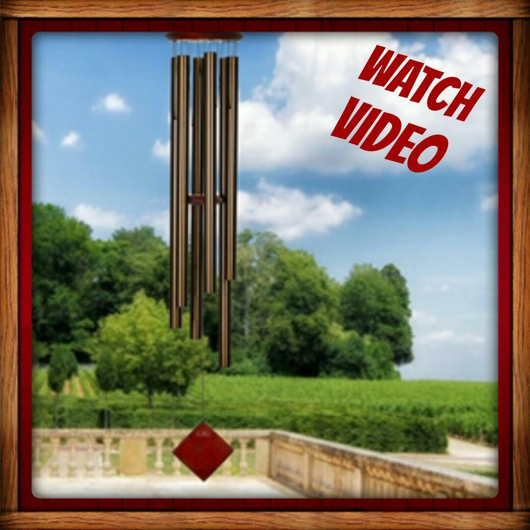 Woodstock Chimes Chimes of Neptune Bronze Chimes of the Planet DCB54