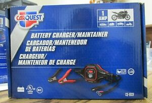 New Carquest 1amp Battery Charger Maintainer Cq 10cr