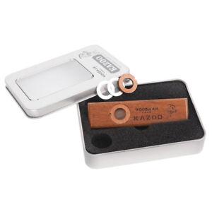 Wooden Kazoo Instruments Ukulele Guitar Partner Wood Harmonica With Metal Box G4