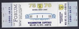 1975-76-NHL-WASHINGTON-CAPITALS-LOS-ANGELES-KINGS-FULL-UNUSED-HOCKEY-TICKET