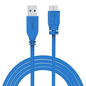 Inquiet Usb3.0 Micro B Câble Usb 3.0 Pour Portable Disque Dur Samsung Seagate ModèLes à La Mode