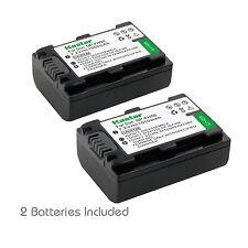 2x Kastar Battery for Sony NP-FH50 DSLR-A390 DSC-HX1 DSC-HX100V DSC-HX200V