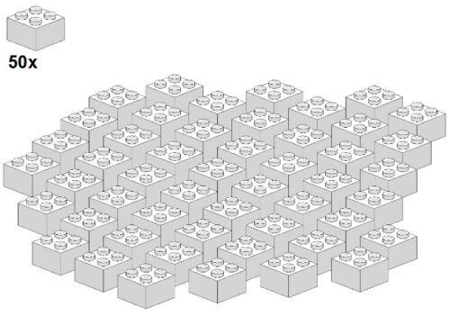 - Pierre-Blanc 2x2 3003-05 LEGO ® Bricks-White 50stk