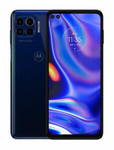 Motorola One 5G UW 128GB (Oxford Blue) - Verizon Smartphone - MINT