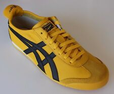 NEW Mens ASICS ONITSUKA TIGER MEXICO 66 Shoes US10 Yellow HL202-0490 Sneakers 44
