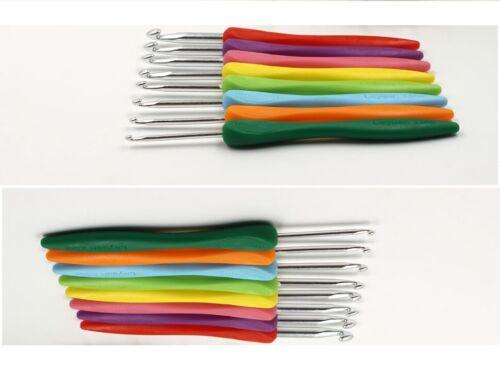 Crochet 14 cm N° 2,5 au 6 mercerie tricot laine coton dentelle fil aiguille