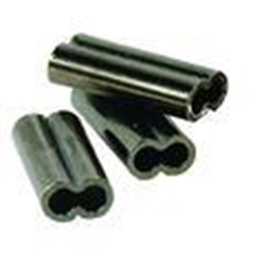 CUSTOM OFFSHORE TACKLE Double Copper Leader Sleeve Crimps 1.0 mm 60-100 lb 100pk