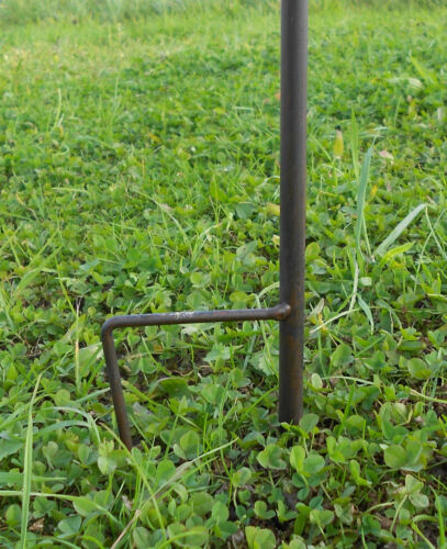 Beetstecker Windspiel Vogel Windrad Gartenstecker Gartendeko 15895 blau-gelb