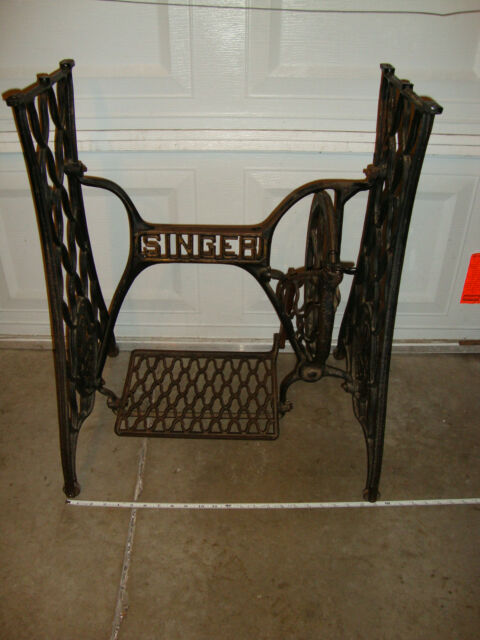 Antique Sewing Machines Collection On EBay Enchanting Sewing Machine Treadle Base