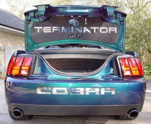 2003 and 2004 Cobra Mustang TERMINATOR trunk lid liner mat