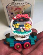 "Hallmark /""Flatbed Car/"" Ornament 1999"