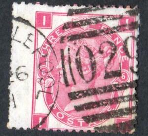 GRANDE-BRETAGNE-N-28-YEAR-1865-USED-CV-80-PROMOTION