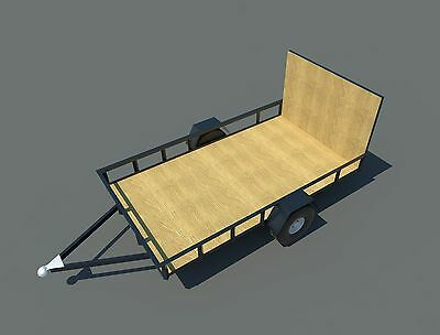 Build your own 6' X 10' Utility Trailer (DIY Plans) Fun to build! Save money!