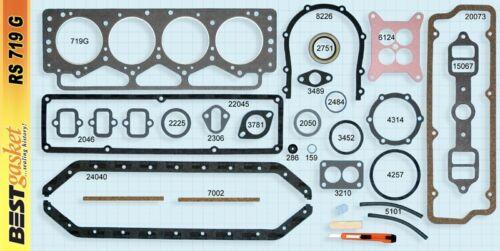 Packard 320 352 374 Full Engine Gasket Set BEST 1955-56 Head+Intake+Valve Cover
